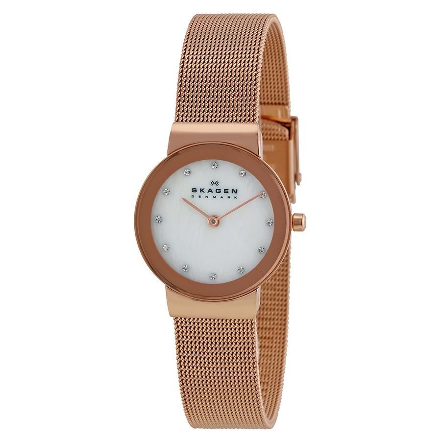 Skagen 358SRRD dames horloge